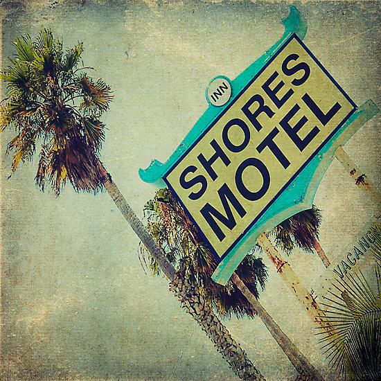 Shores Motel and Palms  by Honey Malek