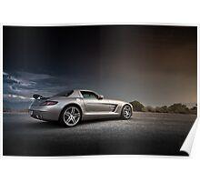 Mercedes-Benz SLS AMG Poster