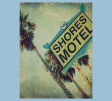 Shores Motel and Palms  Kids Tee