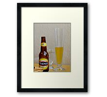 Pilsener Beer Framed Print