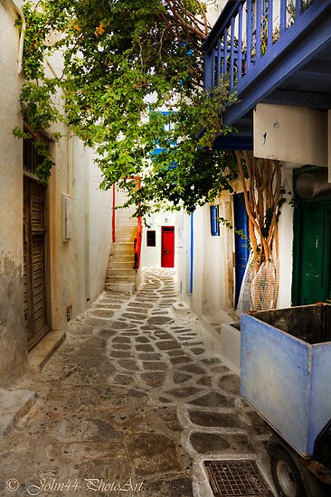 .. discovering Mykonos / Greece   [FEATURED] by John44