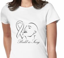 Bald is Sexy Womens Fitted T-Shirt
