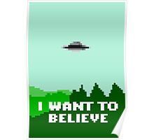 I Want To Pixellate Poster