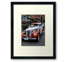 1937 Buick Framed Print