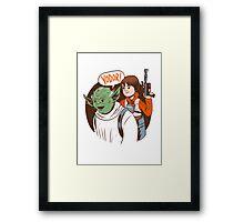 Yodor! Framed Print