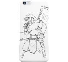 Piggy warrior iPhone Case/Skin