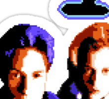 The Pi-X-el Files Sticker
