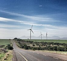 Wind turbines by fourthangel