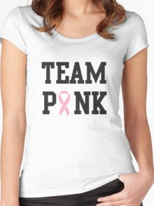 Team Pink Women's Fitted Scoop T-Shirt