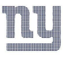 NY text logo by Brittany Ketcham
