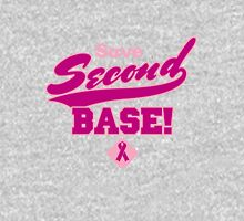 Save Second Base Womens Fitted T-Shirt