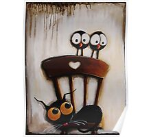 My chair with crows Poster