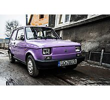 Purple and Polish, Gdansk Photographic Print