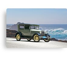 1927 Ford Model A Tudor Sedan Canvas Print