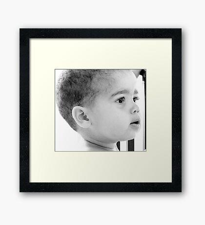 Liam Framed Print