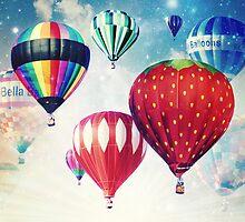 Dreaming of Hot Air Balloons by ElleEmDee