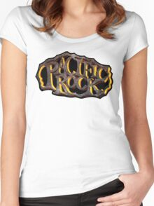 PACIFIC ROCK Women's Fitted Scoop T-Shirt