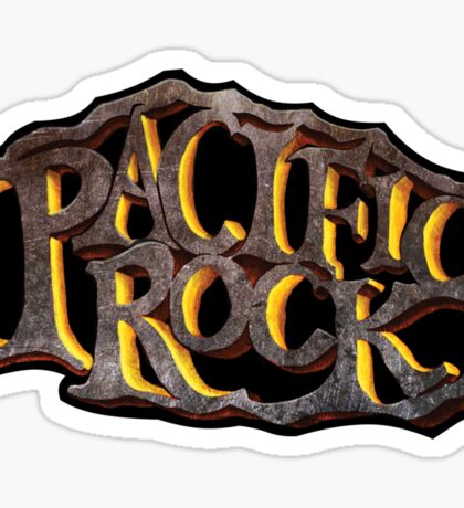 PACIFIC ROCK Sticker