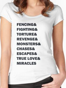 Is This A Kissing Book? Women's Fitted Scoop T-Shirt