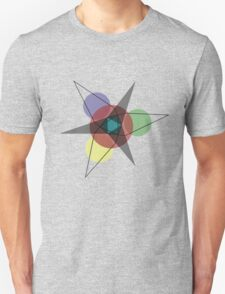 Star Pattern by Reggie Blanchard T-Shirt