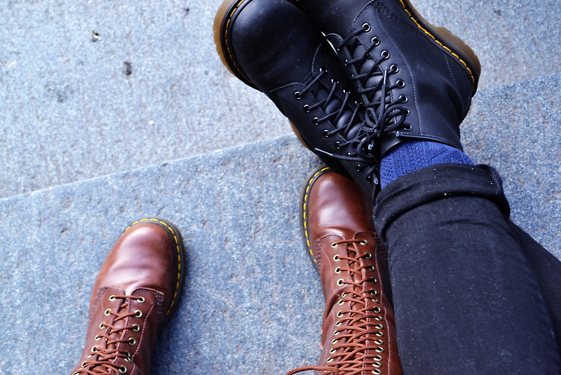 Docs On The Steps of St Paul's by Jessica Reilly