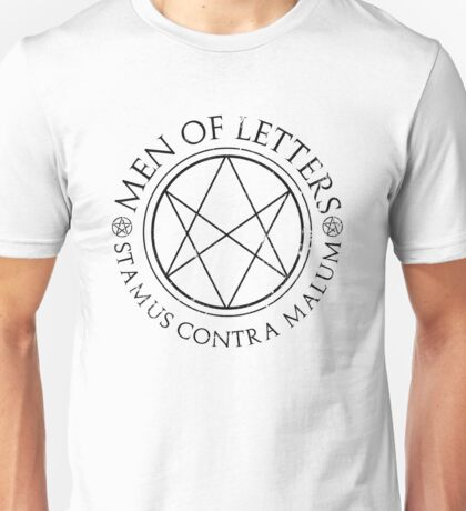 Supernatural - Men of Letters Unisex T-Shirt