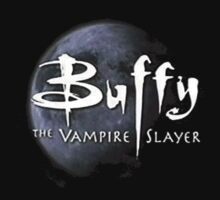 Buffy The Vampire Logo w/ Moon by lukehemmings