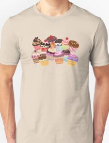 Cupcakes paradise Unisex T-Shirt