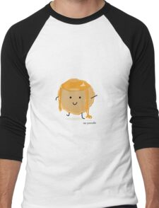 Mr Pancake Men's Baseball ¾ T-Shirt