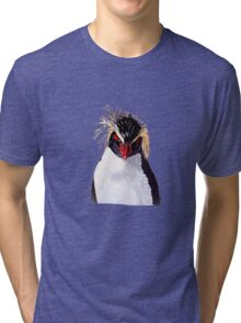 Rockhopper Penguin Tri-blend T-Shirt