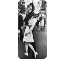 Times Square V/J-Day Kiss iPhone Case/Skin