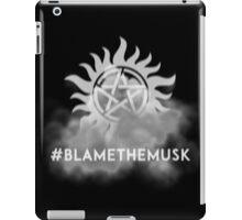 Hashtag Blame the Musk iPad Case/Skin