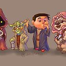 The Star Wars Cute Pack! by Amata415