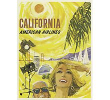 Vintage poster - California Photographic Print