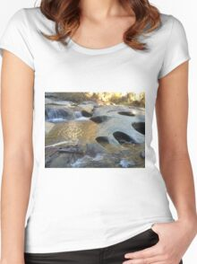 Indians in the Rocks Women's Fitted Scoop T-Shirt