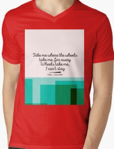Kaleo - Automobile Mens V-Neck T-Shirt