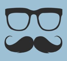 Glasses and mustaches Kids Clothes