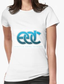 EDC ELECTRIC DAISY CARNIVAL - LOGO  Womens Fitted T-Shirt