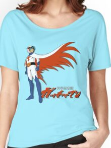 Ken The Eagle Large Women's Relaxed Fit T-Shirt