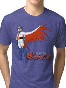 Ken The Eagle Large Tri-blend T-Shirt
