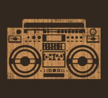 Vintage boombox by CoolTees