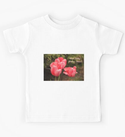 And Baby Makes Three Kids Tee