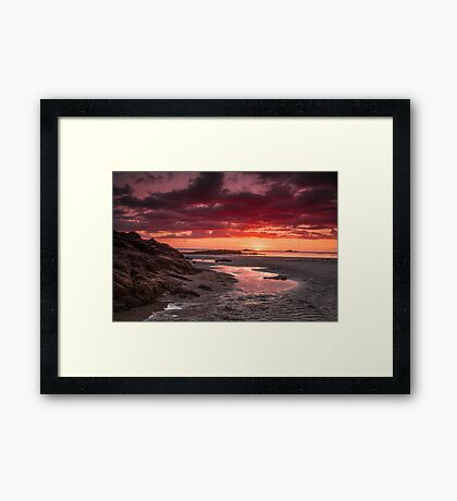"""""""Once Upon A Sunset"""" Framed Print"""