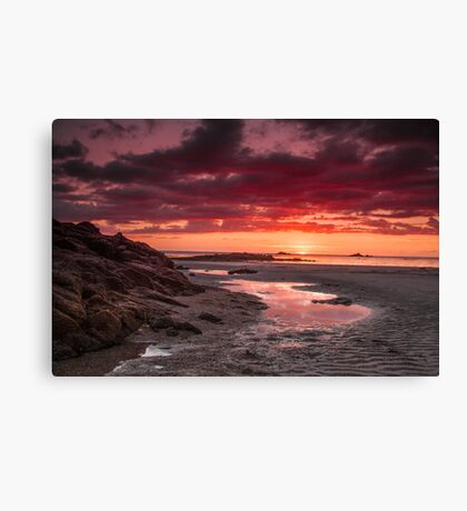 """Once Upon A Sunset"" Canvas Print"
