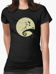 Where Dreams Collide Womens Fitted T-Shirt