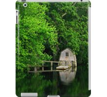 Green Reflections iPad Case/Skin