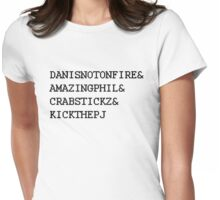 Fantastic Foursome Womens Fitted T-Shirt