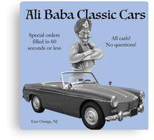 Ali Baba Classic cars Canvas Print
