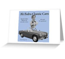 Ali Baba Classic cars Greeting Card