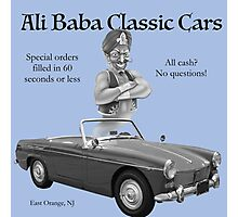 Ali Baba Classic cars Photographic Print